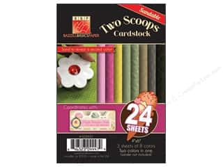 Bazzill 4 x 6 in. Two Scoops Pack 24 pc. Miss Teegen Sue (3 sheets)