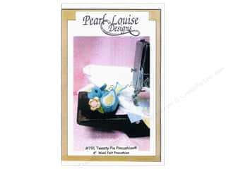 Felt Home Decor: Pearl Louise Designs Tweety Pie Pincushion Pattern
