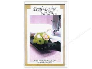 Felt Home Decor: Pearl Louise Designs Tiny Turtle Pincushion Pattern