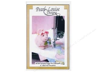 Pacon: Petunia Piggy Pincushion Pattern