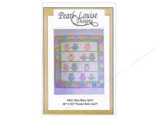 $48 - $52: Pearl Louise Designs Who Baby Quilt Pattern