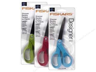 "Fiskars 8"" Bent Scissors Premier Assorted"