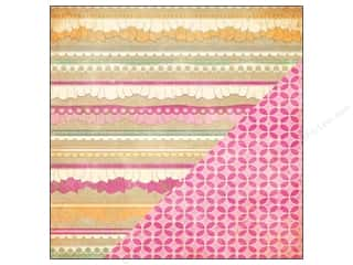 Bazzill 12 x 12 in. Paper Ruffle Trim/Kaleidoscope 25 pc.