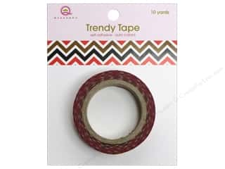 Queen & Company Brown: Queen&Co Trendy Tape 10yd Ziggy Pet