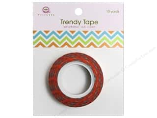 Queen&Co Trendy Tape 10yd Ziggy Summer