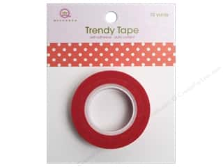 Queen&Co Trendy Tape 10yd Polka Dot Red
