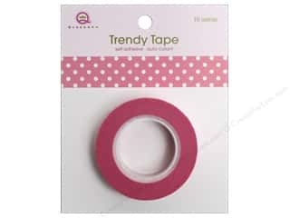 Queen&Co Trendy Tape 10yd Polka Dot Pink