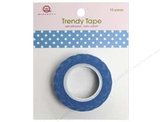 Queen&amp;Co Trendy Tape 10yd Polka Dot Blue