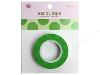 Queen&Co Trendy Tape 10yd Mega Dot Green