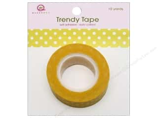 Queen&Co Trendy Tape 10yd Polka Dot Yellow