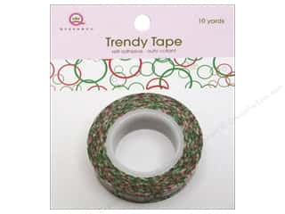 Queen&Co Trendy Tape 10yd Bubbles Christmas