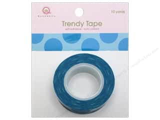 Queen&amp;Co Trendy Tape 10yd Mega Dot Blue