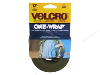 Velcro / Hook & Loop Tape Velcro Straps / Hook & Loop Tape Straps: Velcro One Wrap Strap 3/4 in. x 12 ft. Tan