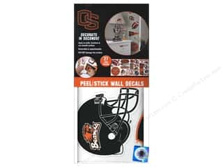 Decals Black: York Peel & Stick Decal  Wall Oregon State 4 Sheet