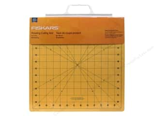 "Quilting Cutting Mats: Fiskars Cutting Mat Self-Healing Rotating 14""x 14"""