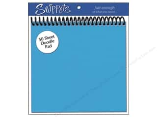 Paper Accents $6 - $10: Doodle Pad by Paper Accents 6 x 6 in. Blue (3 pads)