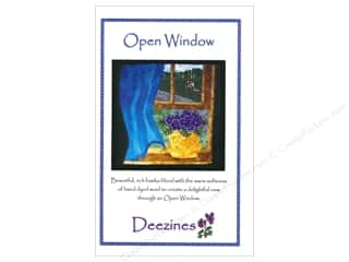 Deezines Quilt Patterns: Deezines Patterns Open Window Pattern