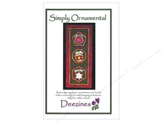 Ornaments Sewing & Quilting: Deezines Patterns Simply Ornamental Pattern