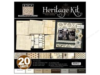 Bazzill 12&quot;x 12&quot; Kit Heritage