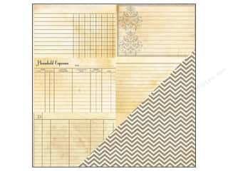 Bazzill Heritage Paper: Bazzill 12 x 12 in. Paper Note Cards Horizontal 25 pc.