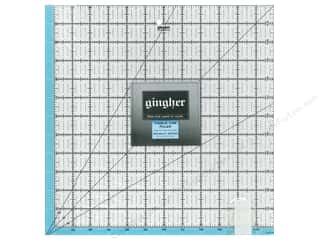 "Gingher Visible Line Ruler 12.5""x 12.5"""