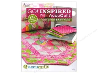 "Books & Patterns 12"": Annie's Attic GO! Inspired With AccuQuilt Book"