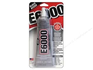 Glue and Adhesives Black: Eclectic Adhesive E6000 2 oz. Black