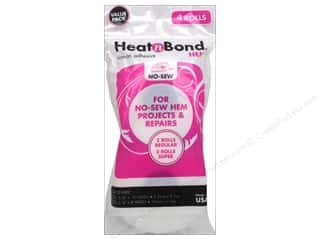 heat n bond iron-on adhesive: Heat n Bond Iron on Hem Adhesive ValuePack 3/8&3/4