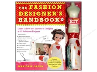 Doll Making Clearance Books: Workman Publishing The Fashion Designers Handbook Book