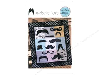 Father's Day Size: April Mae Designs Mustache Love Pattern