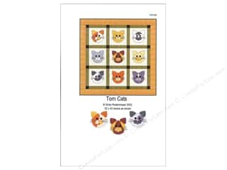 Pets Books & Patterns: QuiltWoman.com Tom Cats Pattern