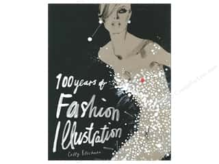 Books Journal & Gift Books: Laurence King Publishing 100 Years Of Fashion Illustration Book