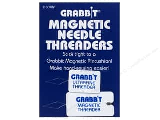 automatic needle threader: Grabbit Magnetic Needle Threaders 2 pc.