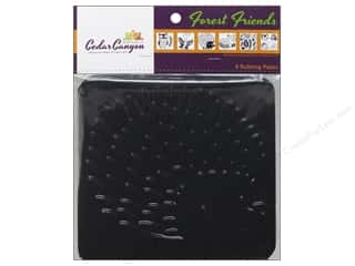 Cedar Canyon Textiles Rotary Rulers & Templates: Cedar Canyon Rubbing Plate 6 pc. Forest Friends
