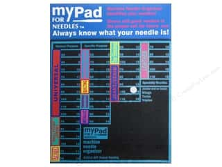 Needle Holder: Grabbit myPad Organizer for Needles