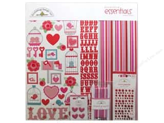 Doodlebug Kit Essentials  Paper Lovebirds