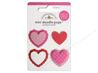 Doodlebug Sticker Doodle Pops Mini Valentines