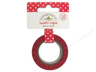 Doodlebug Tapes: Doodlebug Washi Tape 5/8 in. x 12 yd. Ladybug