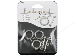 Sweet Beads Toggle Clasp 20 mm Silver 3pc