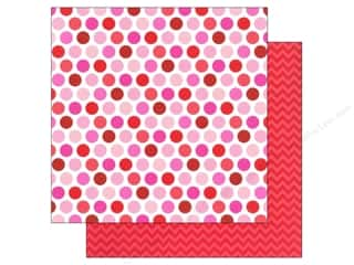 Doodlebug Paper 12x12 Lovebirds Darling Dots (25 piece)