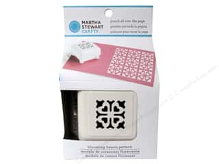 Weekly Specials Clover Bias Tape Maker: Martha Stewart Punch All Over The Page Bloom Heart
