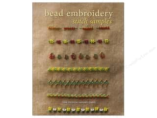 Book-Needlework: Interweave Press Bead Embroidery Stitch Samples Book