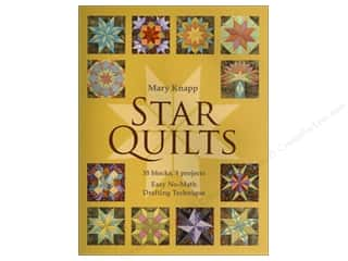 Unique Length: C&T Publishing Star Quilts Book by Mary Knapp