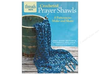 knitting books: Taunton Press Thread Selects Crocheted Prayer Shawls Book