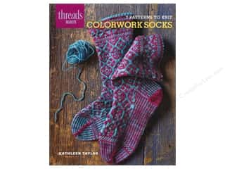 Taunton Press Crochet & Knit: Taunton Press Thread Selects Colorwork Socks Book
