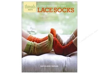 Taunton Press Crochet & Knit: Taunton Press Thread Selects Lace Socks Book