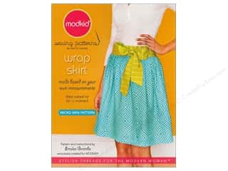 Micro Mini Wrap Skirt Pattern