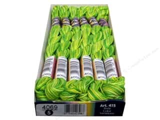 DMC Pearl Cotton Variations Size 5 #4069 Margarita (6 skeins)
