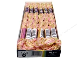 Threads $5 - $7: DMC Pearl Cotton Variations Size 5 #4095 Cupcake (6 skeins)