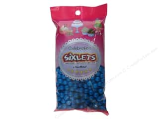 Bags Party & Celebrations: SweetWorks Celebration Sixlets 14oz Blue
